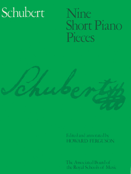 Nine Short Piano Pieces