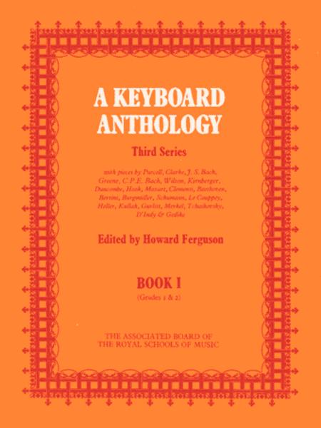 A Keyboard Anthology Third Series, Book 1
