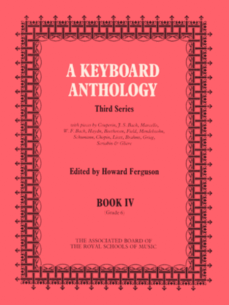 A Keyboard Anthology Third Series Book 4