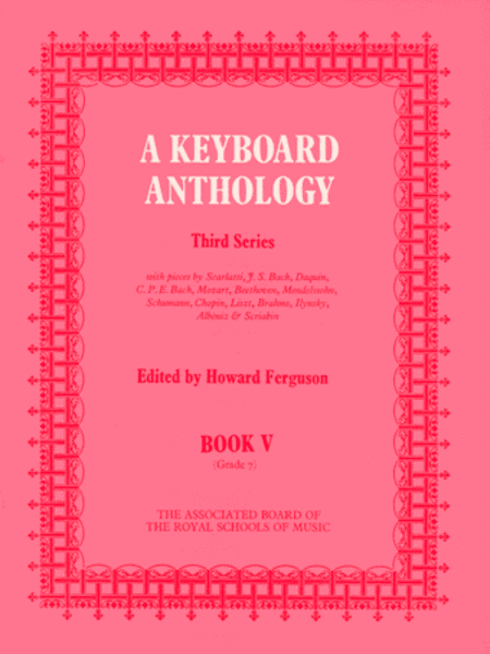 A Keyboard Anthology, Third Series, Book V