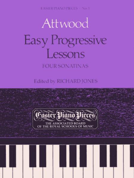 Easy Progressive Lessons u Four Sonatinas