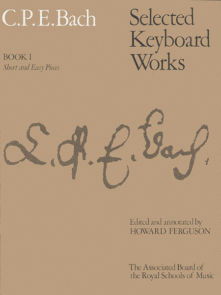 Selected Keyboard Works, Book 1 Short & Easy Pieces