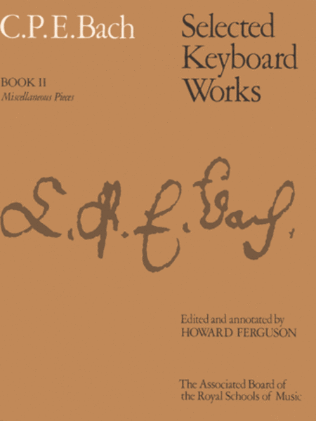 Selected Keyboard Works, Book 2 Miscellaneous Pieces