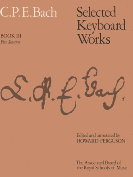 Selected Keyboard Works, Book 3 Five Sonatas