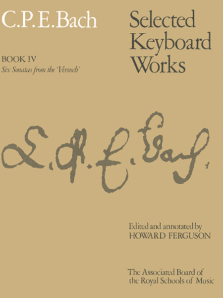 Selected Keyboard Works Book 4