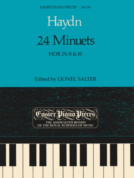 24 Minuets, Hob.IX/8 & 10