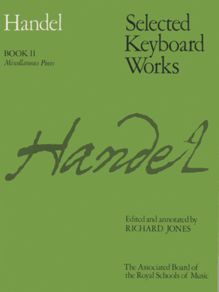 Selected Keyboard Works, Book II