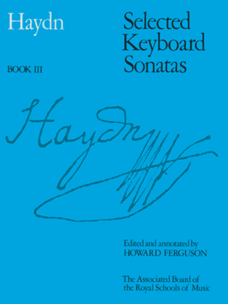 Selected Keyboard Sonatas, Book 3