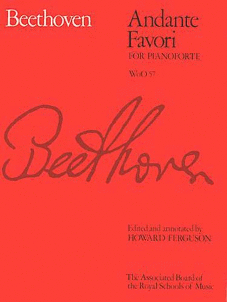 Andante Favori, WoO 57