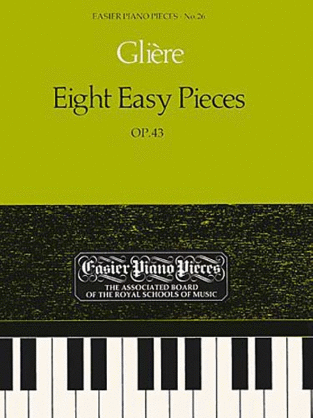 Eight Easy Pieces Op.43
