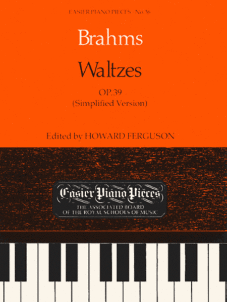 Waltzes, Op.39 (simplified version)