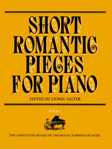 Short Romantic Pieces for Piano, Book 1