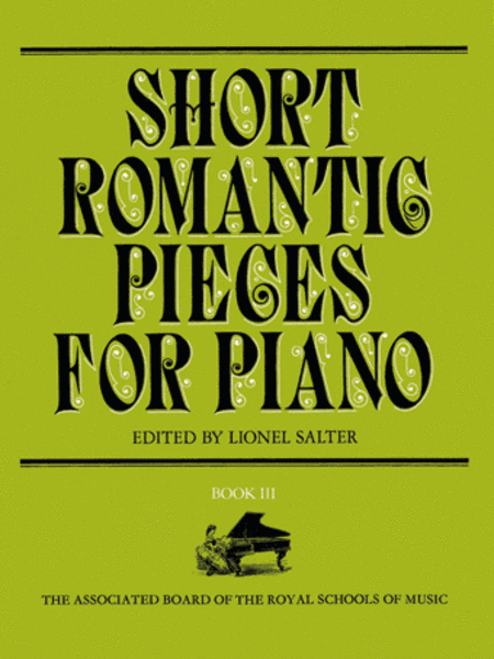Short Romantic Pieces for Piano, Book 3