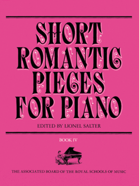 Short Romantic Pieces for Piano, Book IV