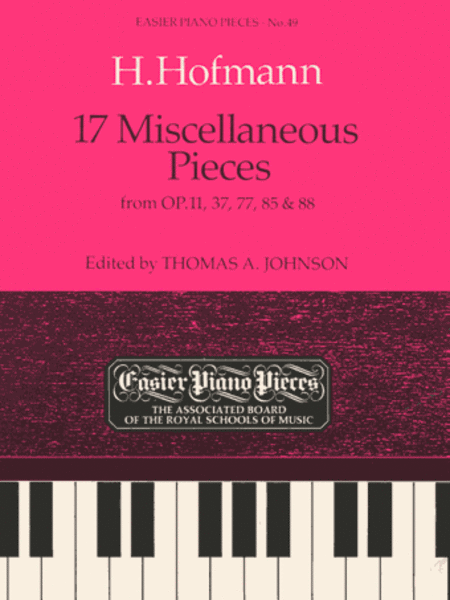 17 Miscellaneous Pieces