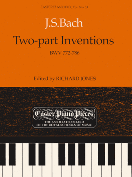 Two-part Inventions, BWV 772-786