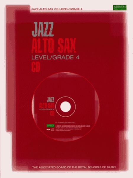 Jazz Alto Sax CD Level/Grade 4