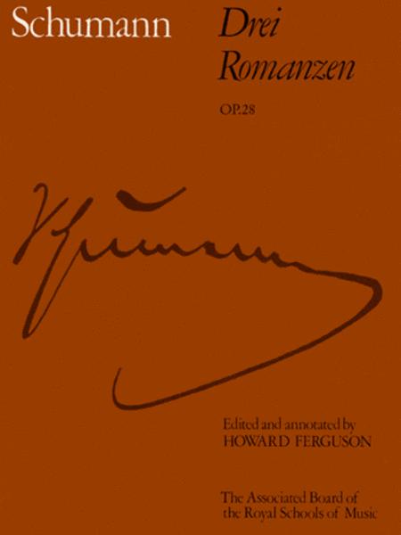 Drei Romanzen Op.28