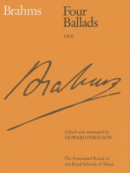 Four Ballads Op.10