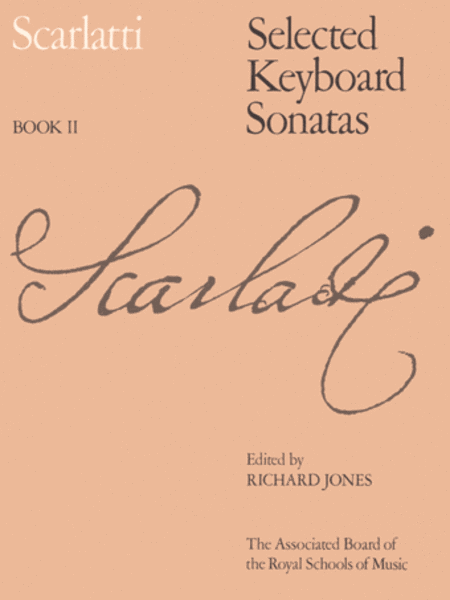 Selected Keyboard Sonatas, Book II