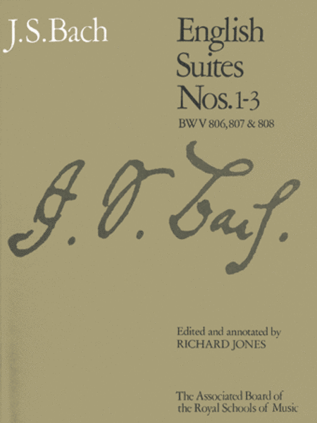 English Suites Nos 1-3