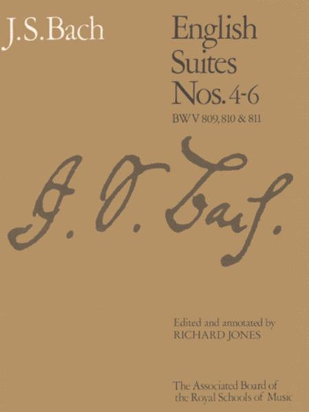 English Suites, Nos. 4-6