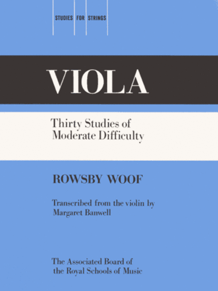 Thirty Studies of Moderate Difficulty