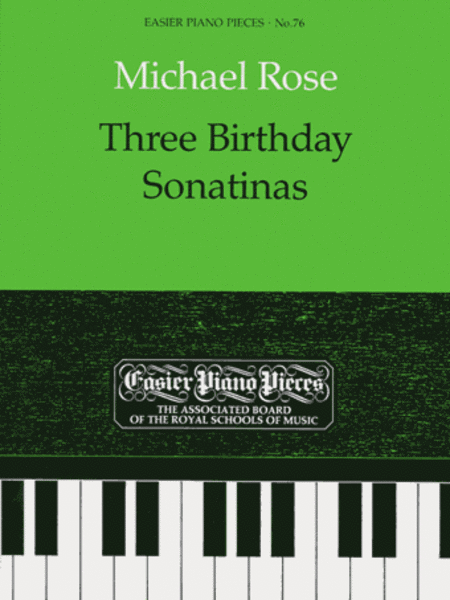 Three Birthday Sonatinas