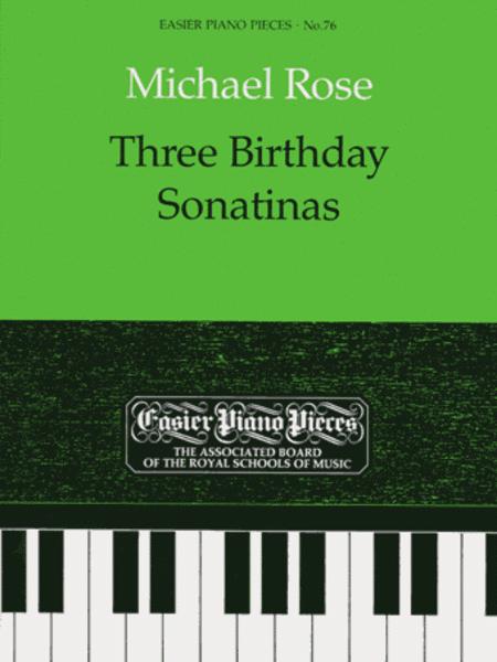 Three Birthday Sonatinas
