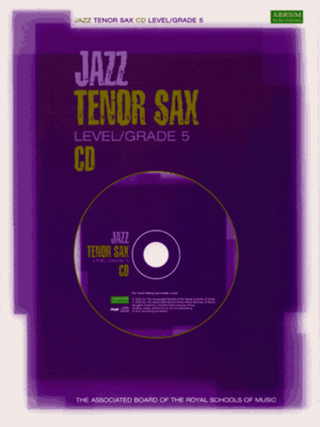 Jazz Tenor Sax CD Level/Grade 5 (North American version)