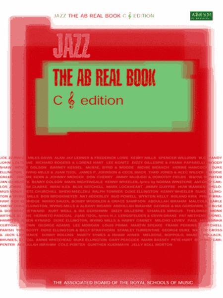 AB Real Book C treble-clef edition - North American version