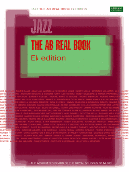 AB Real Book E flat edition u North American version