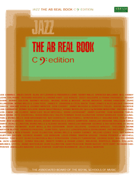 AB Real Book C bass-clef edition u North American version