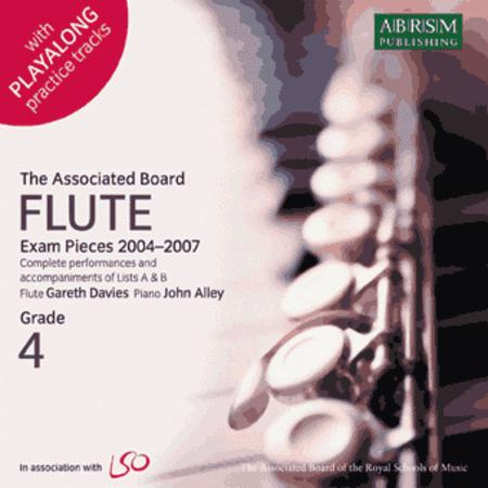 Recordings of Flute Exam Pieces 2004-7 Grade 4