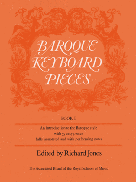 Baroque Keyboard Pieces, Book 1 (easy)