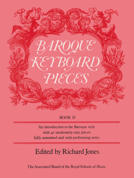 Baroque Keyboard Pieces, Book II (moderately easy)