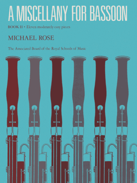 A Miscellany for Bassoon, Book 2 (11 moderately easy pieces)