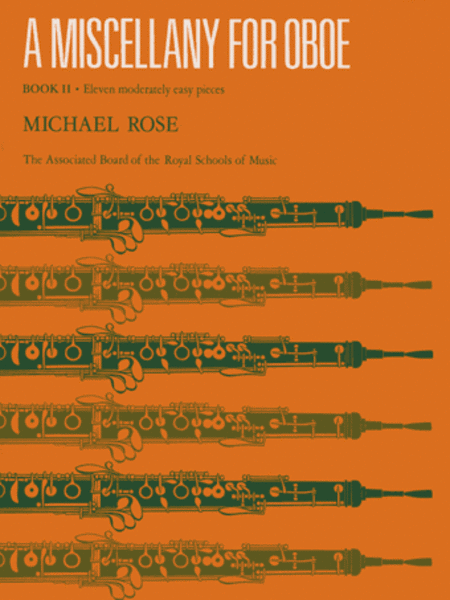 A Miscellany for Oboe, Book II