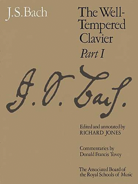 Well-Tempered Clavier Part 1 (paper cover)