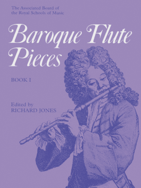 Baroque Flute Pieces, Book 1