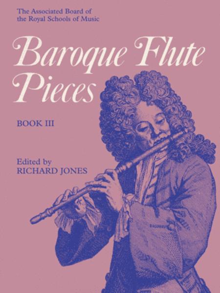 Baroque Flute Pieces, Book III