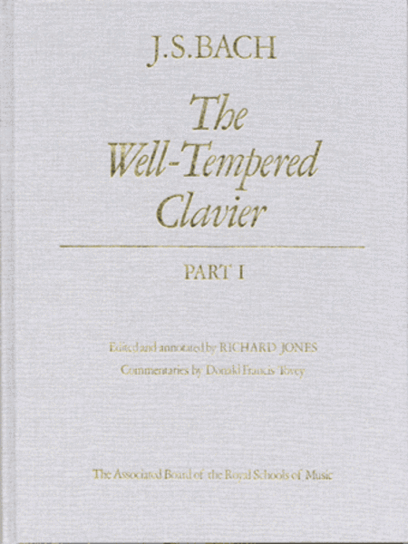 Well-Tempered Clavier Part 1 (cloth cover)