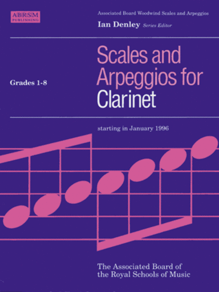 Scales and Arpeggios for Clarinet