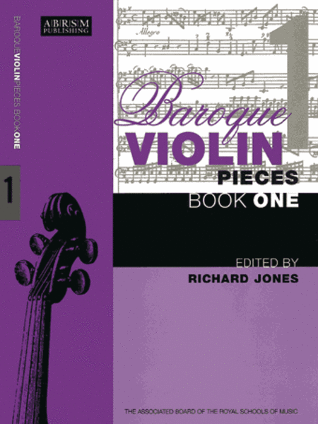 Baroque Violin Pieces, Book 1