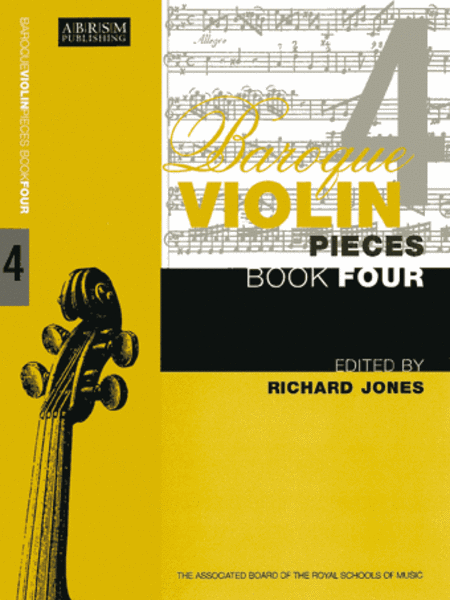 Baroque Violin Pieces, Book 4