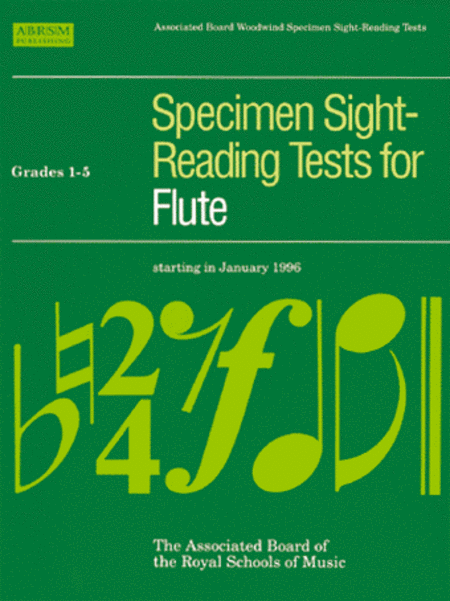 Specimen Sight-Reading Tests for Flute Grades 1-5