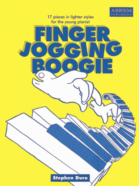 Finger Jogging Boogie, 17 pieces in lighter styles for the young pianist