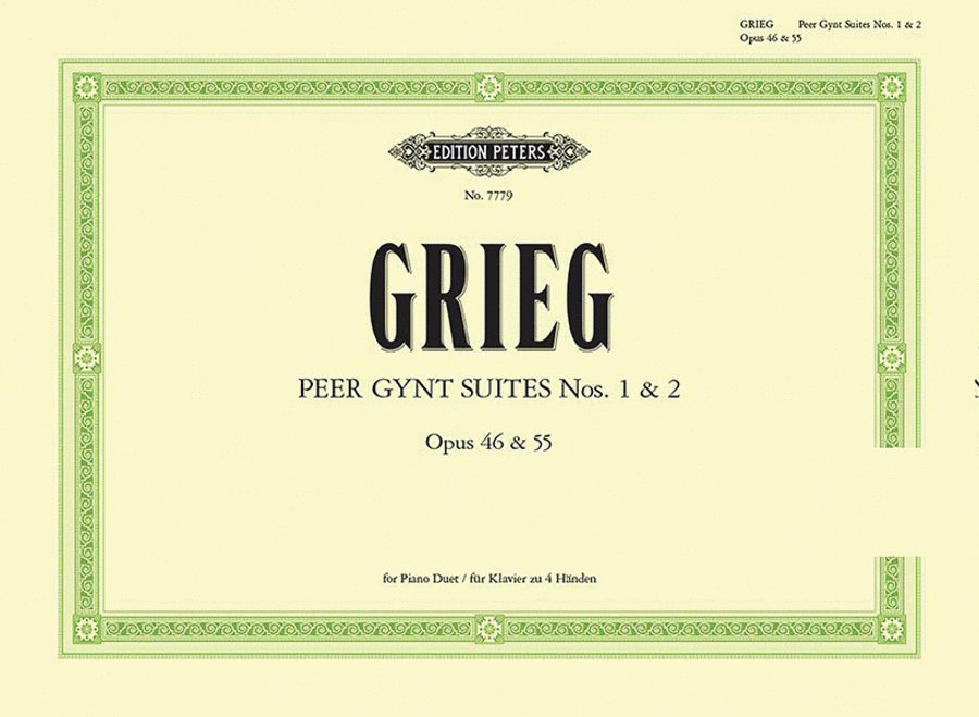 Peer Gynt Suites Nos. 1 & 2 (piano duet)
