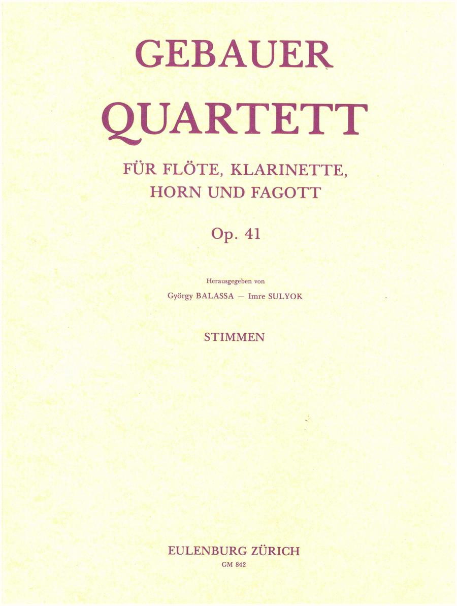 Quartet Op. 41