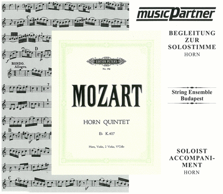 Horn Quintet in E flat Major K407